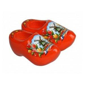 Typisch Hollands Magneet Klompje Oranje