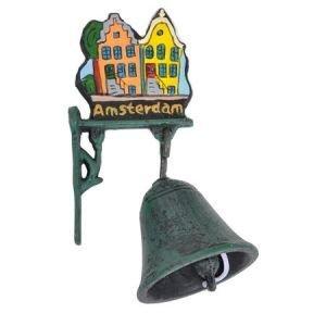 Typisch Hollands Cast iron Bell (small) Amsterdam