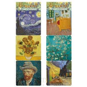 Typisch Hollands Onderzetters Vincent van Gogh