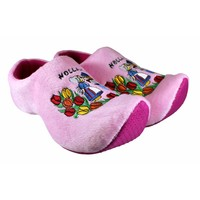 Typisch Hollands Clog Pantoffeln Rosa