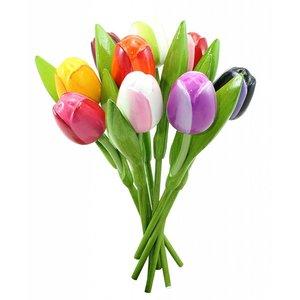 Typisch Hollands Hölzerne Tulpen - AKTIONSPREIS