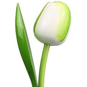 Typisch Hollands Witte Houten Tulp