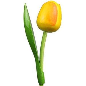 Gelbe Tulpe Holz
