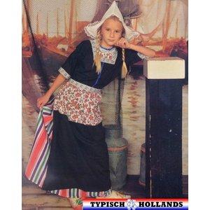 Typisch Hollands Klederdracht Meisje Holland
