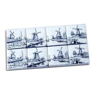Typisch Hollands Chocolade tegels Delfts Blauw