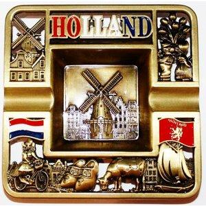 Asbak vierkant Holland