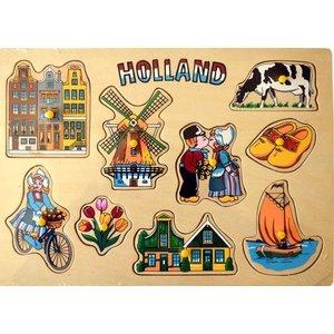 Typisch Hollands Kinderpuzzle - Holland