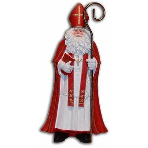 Typisch Hollands Sinterklaas mit Buch Groot (Nostalgisch)