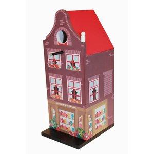 Typisch Hollands Birdhouse Amsterdam (Klokgevel)