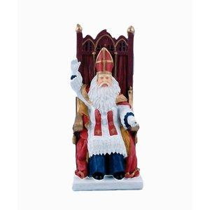 Typisch Hollands Sinterklaas auf Stuhl