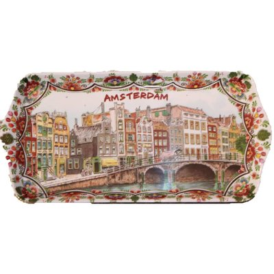 Tray Amsterdam polychrome