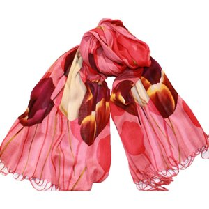 Typisch Hollands Sjaal Robin Ruth Tulpen