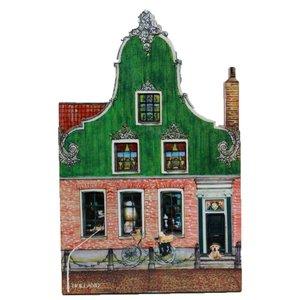 Typisch Hollands Magnet Zaans Haus