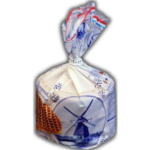 Stroopwafels (Typisch Hollands) Stroopwafels in Delfts blauwe verpakking