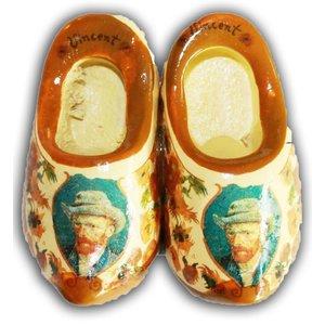 Typisch Hollands Magneet Klompjes ( van Gogh )