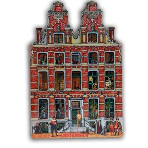Typisch Hollands Magneet Amsterdam-Holland