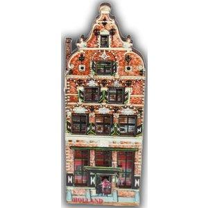 Typisch Hollands Magneet Gevelhuisje Holland - Betlehem