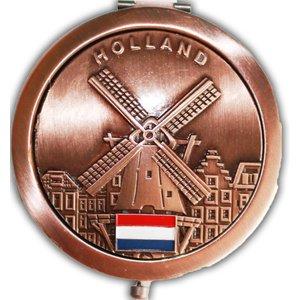 Typisch Hollands Spiegel-Holland - Bronze Ausführung