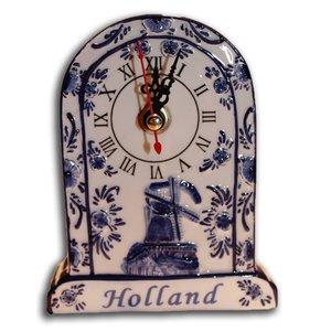 Typisch Hollands Tafelklokje Delfts Blauw