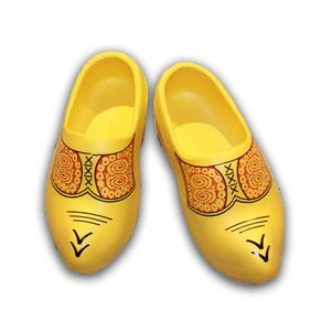 Typisch Hollands Rubber clogs Yellow