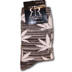 Robin Ruth Fashion Socks Robin Ruth (Cannabis)