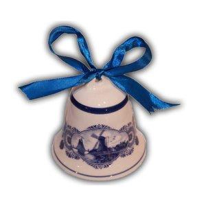 Typisch Hollands Christmas bell Delftware