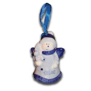 Typisch Hollands Delft Blue Christmas Angel