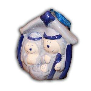 Typisch Hollands Christmas decoration Delftware