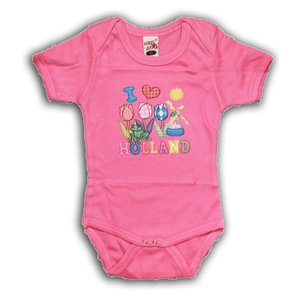 Typisch Hollands Holland Rosa Bodysuit