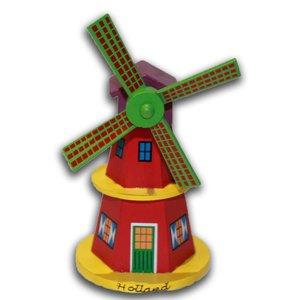 Holzmühle auf Stock