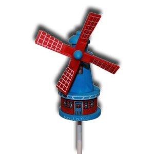 Typisch Hollands Windmühle auf Stick