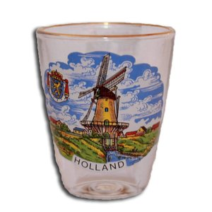 Typisch Hollands Schnapsglas Holland