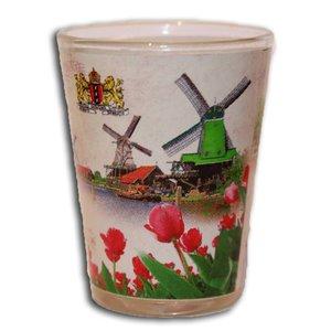 Typisch Hollands Shot Glass Zaanse Schans
