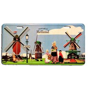 Typisch Hollands Badge Bord Holland - Mills