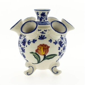 Typisch Hollands Tulipvase (blau und orange)