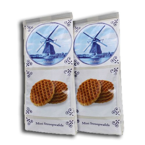 Stroopwafels (Typisch Hollands) Mini Stroopwafels