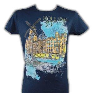 Kemme Textiles T -Shirt Holland ( Amsterdam - Molen)