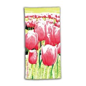 Typisch Hollands Bath towel Tulips