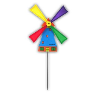 Typisch Hollands Windmolentje op stokje