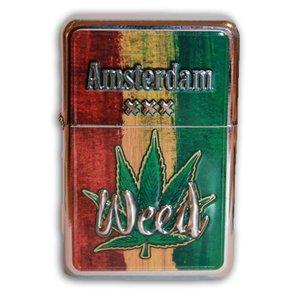 Typisch Hollands Zipper Benzinfeuerzeug