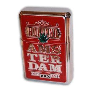 Typisch Hollands Red Zipper Amsterdam