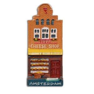 Typisch Hollands Magnet Fassade Cottage Cheese Shop