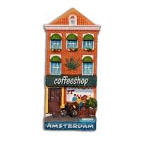 Typisch Hollands Magnet Fassade Haus Coffee