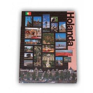 Typisch Hollands Boek Holland in vogelvlucht - Portugees
