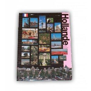 Typisch Hollands Boek Holland in vogelvlucht - Frans
