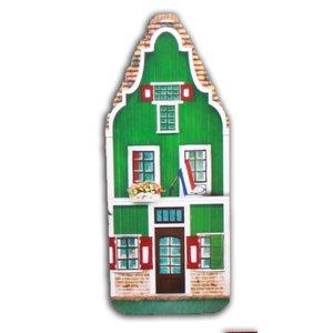 Typisch Hollands Niederländisches Haus mit Hopjes