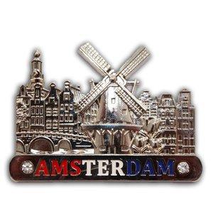 Typisch Hollands Magnet (Metall) Amsterdam - Holland