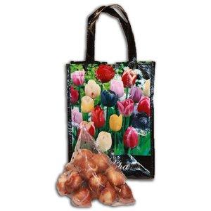 Typisch Hollands Tulpenbollen Geschenktas