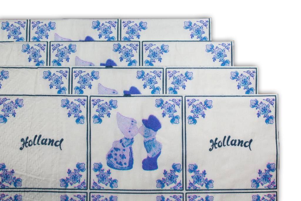 Delfts Blauwe Tegels : Shop online holland servetten typisch hollands souvenirs typisch