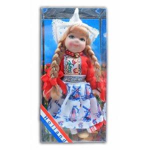 Typisch Hollands Kostüm Puppe 12cm